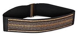 BCBGMAXAZRIA Elasticized Chain Belt