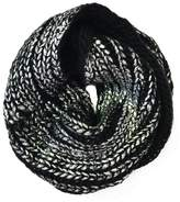 2 Chic Metallic Infinity Scarf