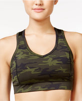 Jessica Simpson The Warm Up Juniors' Mesh-Back Sports Bra