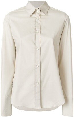 Romeo Gigli Pre-Owned wide cuffs shirt