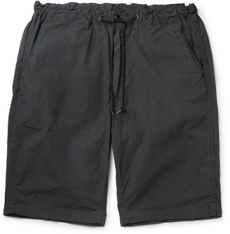 orSlow Slim-Fit Cotton Drawstring Shorts