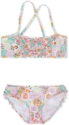 Bonpoint Floral Print Swim Set
