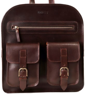 The Dust Company Mod 136 Backpack in Cuoio Havana