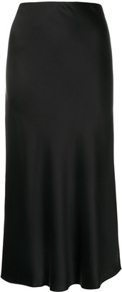 Frame High-Waisted Midi Skirt