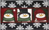 Nourison Three Snowmen Rectangular Rug