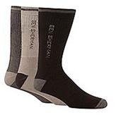 Ben Sherman Pack Of Three Beige Socks