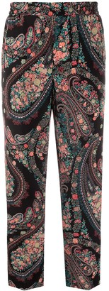 Etro Paisley And Floral Trousers