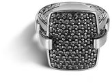 John Hardy Classic Chain Ring with Black Sapphire