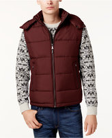 MICHAEL Michael Kors Men's Big and Tall Hooded Puffer Vest