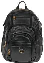 Wilsons Leather Mens Laptop Compatible Canvas/Leather Backpack