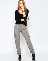 Blank NYC For Sure Utility Pants in Gray