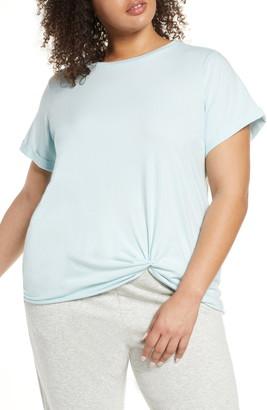 Zella Twist Hem T-Shirt