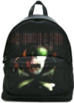 Givenchy skull and crossbones printed backpack
