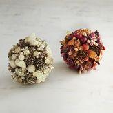 Pier 1 Imports Mixed Berry Decorative Sphere Set
