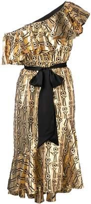Temperley London Eliska one shoulder dress