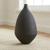 crate barrel halsey floor vase aluminum crate barrel