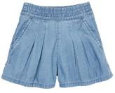 Toddler Girl's Mini Boden Pull-On Denim Shorts
