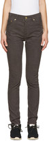 Visvim Brown Corduroy Fluxus Slub Trousers