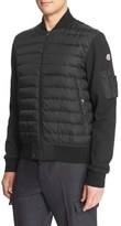 Moncler Men's Mixed Media Quilted Down Jacket