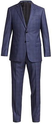 Emporio Armani Check Virgin Wool Suit