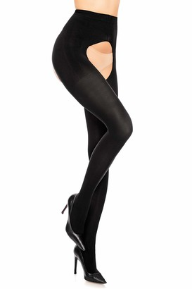 GLAMORY Women's Ouvert Tights 60 DEN