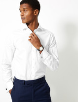 Marks and Spencer Slim Fit Pure Cotton Shirt