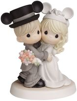 Precious Moments Disney's Mickey Mouse Wedding Couple Wearing Mickey Ears Figurine by
