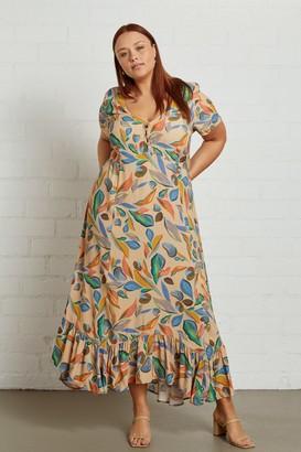 White Label Crepe Joline Dress - Plus Size