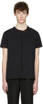 Craig Green Black Lace-up Collar T-shirt