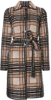 Missoni checked belted coat - women - Nylon/Polyester/Mohair/Alpaca - 38