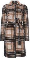 Missoni checked belted coat - women - Polyester/Nylon/Mohair/Alpaca - 38
