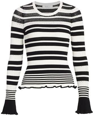 Bailey 44 Julian Striped Sweater Top