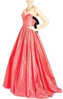 Oscar de la Renta Strapless Couture Dress