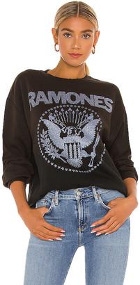 MadeWorn x REVOLVE Ramones Glitter Sweatshirt