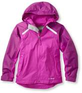 L.L. Bean L.L.Bean Kids' Trail Model Rain Jacket, Lined