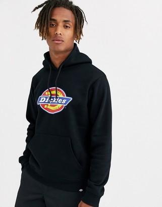 Dickies San Antonio hoodie with large logo in black