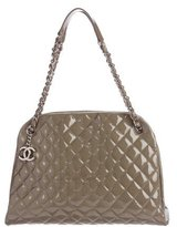 Chanel Just Mademoiselle Maxi Bowling Bag