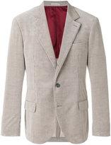 Brunello Cucinelli flap pocket blazer - men - Cotton/Cupro/Cashmere - 48