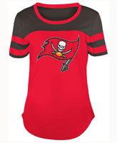 5th & Ocean Women's Tampa Bay Buccaneers Limited Edition Rhinestone T-Shirt