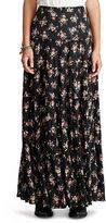 Denim & Supply Ralph Lauren Floral-Print Tiered Maxiskirt