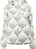 Giambattista Valli floral print hooded jacket - women - Polyester - 40