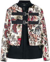 Oamc layered look jacket