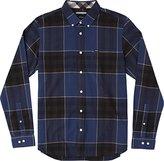 RVCA Men's Brookfield Long Sleeve Woven Shirt