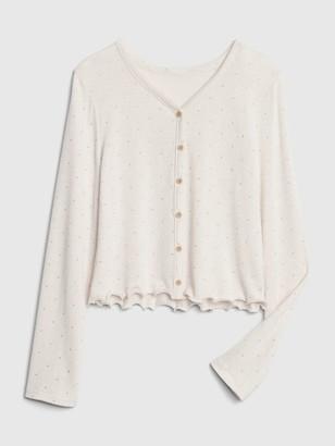 Gap Kids Softspun Button-Front Shirt