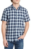 Lucky Brand Men's Ballona Plaid Woven Shirt