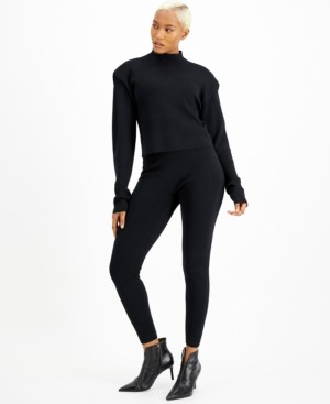 INC International Concepts Culpos x Inc Mock-Neck Sweater, Created for Macy's