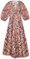 Apiece Apart Sierra Dress in Especia Floral Pink