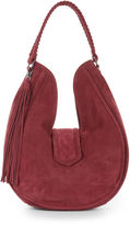BCBGeneration Suede Tassel Hobo - Purple