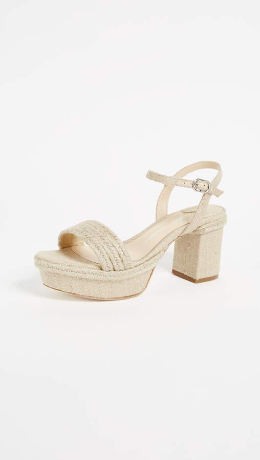 Isa Tapia Playa Platform Sandals