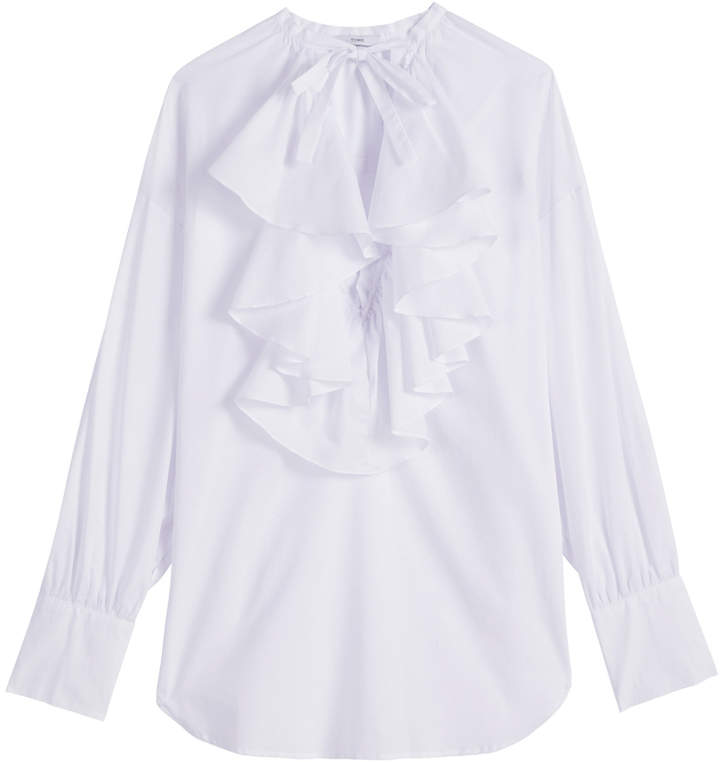 Tome Ruffle Peasant Top